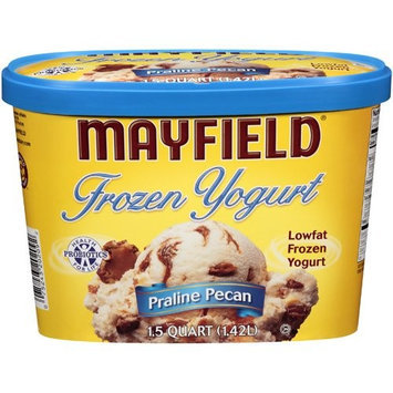 Mayfield Praline Pecan Frozen Yogurt, 1.5 qt