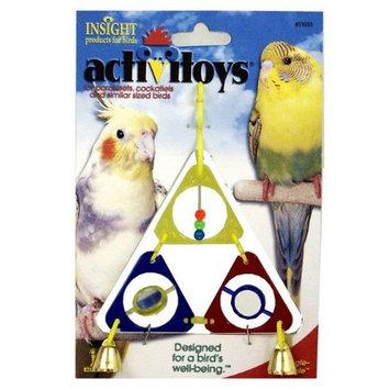 JW Pet Company Activitoys Triangle Dangle Bird Toy