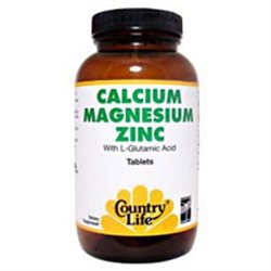 Calcium Magnesium Zinc 100 Tab By Country Life Vitamins (1 Each)