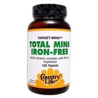 Target Total Mins-iron Fr 120 Tab By Country Life Vitamins (1 Each)