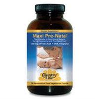Country Life Maxi Pre-Natal Multi-Vitamin/Mineral Caps