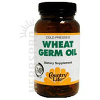 Country Life Wheat Germ Oil - 100 Softgels