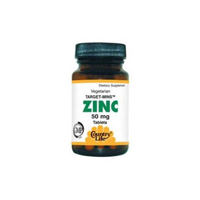 Country Life Target-Mins Zinc 50 mg Tabs
