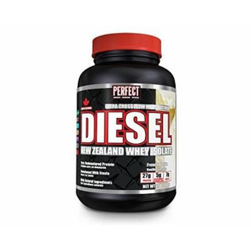 Diesel Whey Protein -Vanilla New Zealand 100% Isolate (910g) Brand: Perfect