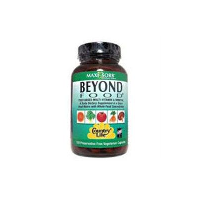Country Life Beyond Food Multi-Vitamin - 120 Vegetarian Capsules