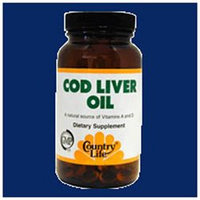 Country Life - Cod Liver Oil - 250 Softgels