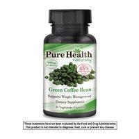 Pure Health Pure Green Coffee Bean, 400 mg per Capsule, 30 Vegetarian Capsules
