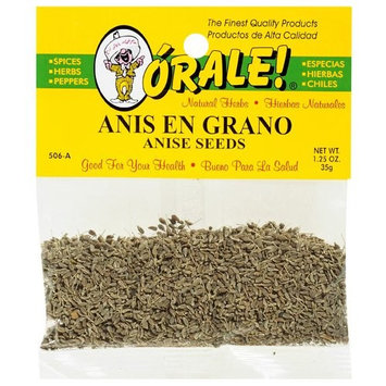 Orale Anise Seeds, 1.25 oz