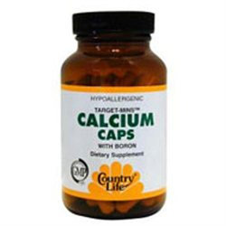 Target Mins Calcium 90 Vcap By Country Life Vitamins (1 Each)