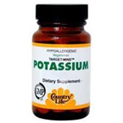Country Life Target-Mins Potassium 99 mg Tabs