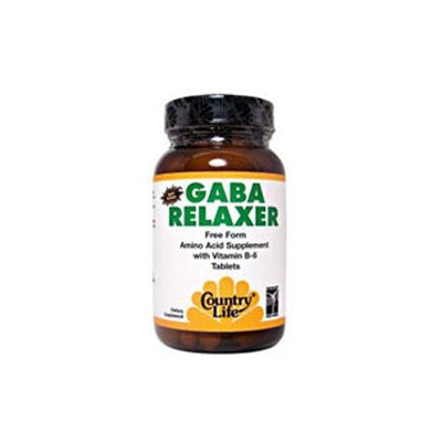 Country Life GABA Relaxer - 60 Tablets