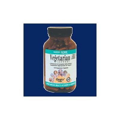 Country Life Vitamins Maxi-Sorb Vegetarian Support Multi-Vitamins 120 Vegicaps, Country Life