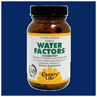 Country Life Vegetarian Water Factors - 60 Tablets - Other Herbs