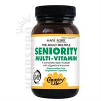 Seniority Multi Vitamins 60 Vegicaps, Country Life
