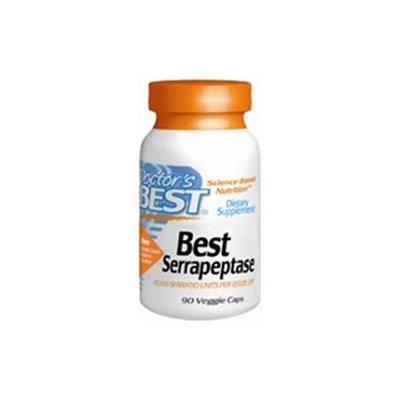 Doctor's Best Serrapeptase - 40000 Units - 90 Vegetarian Capsules