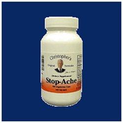 Stop-Ache, 440 mg, 100 Vegicaps, Christopher's Original Formulas