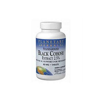 Planetary Formulations Standar Black Cohosh Ext 80 MG - 45 Tablets - Menopause Support Herbs