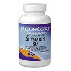 Planetary Formulations Full Spect Silymarin 80 - 30 Tablets - Milk Thistle