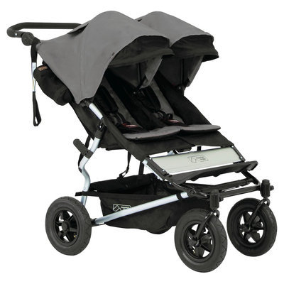 Mountain Buggy Duet Double Stroller in Flint