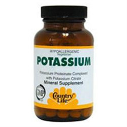 Country Life Potassium - 99 mg - 100 Tablets
