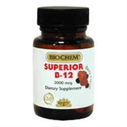 Superior B12 Sublingual 120 Chew By Country Life Vitamins (1 Each)