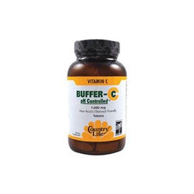 Buffer C Ph Cntrld 1000mg 60 Tab By Country Life Vitamins (1 Each)