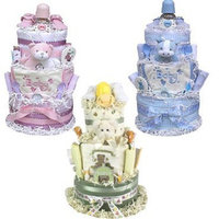 Baby Gift Idea 3 Tiered Diaper Cake