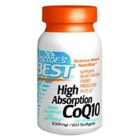 Doctor's Best - High Absorption CoQ10 100 mg. - 60 Softgels
