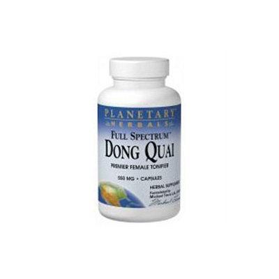 Planetary Herbals Full Spectrum Dong Quai 550 mg Caps