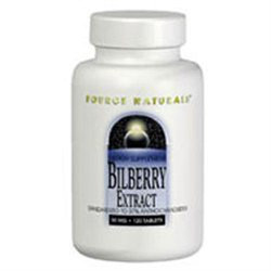 Source Naturals Bilberry Extract - 50 mg - 30 Tablets