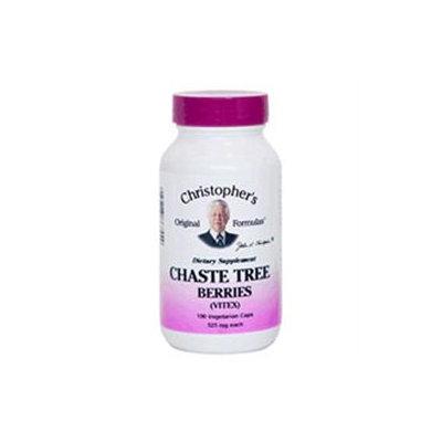 Dr. Christophers Formulas Single Herb Chaste Tree 100 Vegicaps