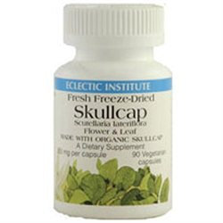 Eclectic Institute Skullcap Freeze-Dried 350 MG - 90 Capsules - Other Herbs