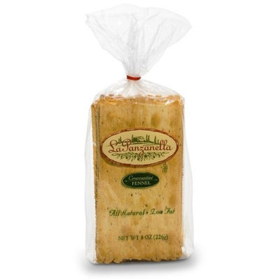 La Panzanella Fennel Croccantini, 8-Ounce Bags (Pack of 6)