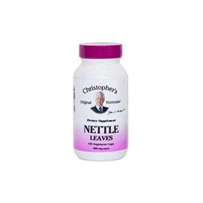 Single Herb Nettle 100 Vegicaps by Dr. Christophers Formulas