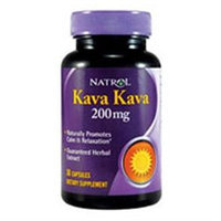 Natrol Kava Kava 200 mg Dietary Supplement Capsules