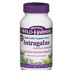 Astragalus 90 Vcaps By Oregon's Wild Harvest