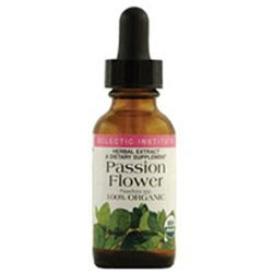 Eclectic Institute Passion Flower - 1 Ounces Liquid - Supplements