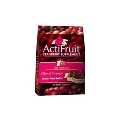 Enzymatic Therapy ActiFruit Cranberry Supplement - 30 Vegetarian Capsules