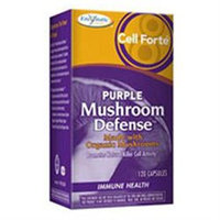 Enzymatic Therapy - Cell Forte Purple Mushroom Defense - 120 Ultracaps