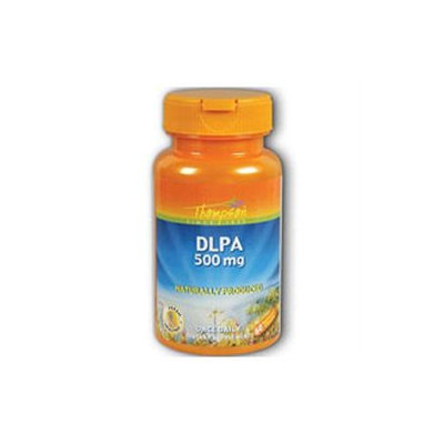 DLPA 500mg 60 caps, Thompson Nutritional Products