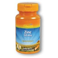 Zinc High Potency 50mg 60 tabs, Thompson Nutritional Products