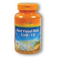Red Yeast Rice CoQ10, 60 Vegicaps, Thompson Nutritional Products