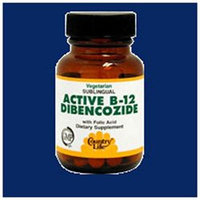 Country Life Active B-12 Dibencozide - 3000 mcg - 30 Sublingual Lozenges - Vegan