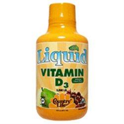 Country Life Liquid Vitamin D3 - 5000 IU - 16 fl oz