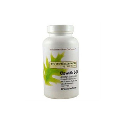 Food Science Labs Chewable C-300 Or-Pine - 90 Tablets - Vitamin C