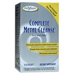 Enzymatic Therapy Complete Metal Cleanse - 30 Vegetarian Capsules