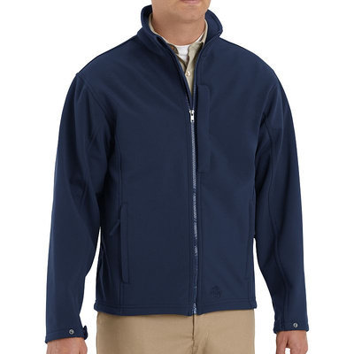 Red Kap Unisex Navy Twill Jackets & Coats Work Jacket