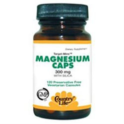 Target Mins Magnesium 24 Vcap By Country Life Vitamins (1 Each)