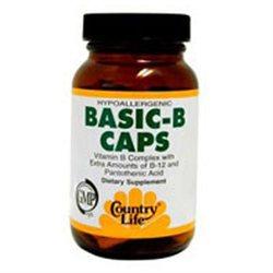 Country Life Basic-B Caps - 90 Vegetarian Capsules