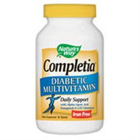 tures Way Nature's Way Completia Diabetic Multivitamin - 90 Tablets - Multivitamins without Iron